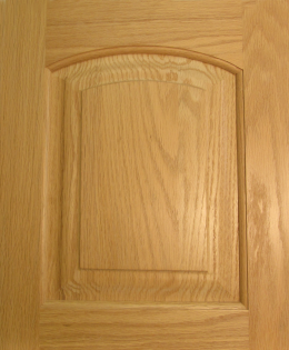 Arch-Top Raised Panel (Oak)