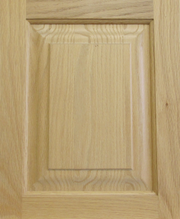 Raised Panel in Oak